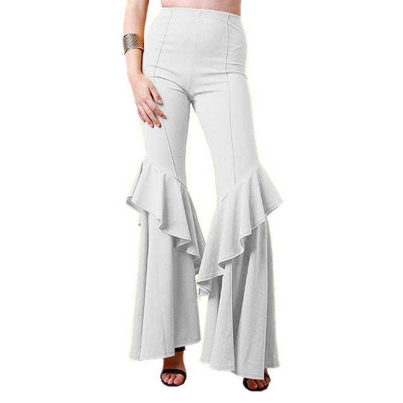 sapphire Cintura Alta Son Ahora Mujer De white Populares Slim Adelgazamiento Nueva Mujeres gray Las Blue khaki Campana yellow Moda Pantalones red Black Falda aq804wta