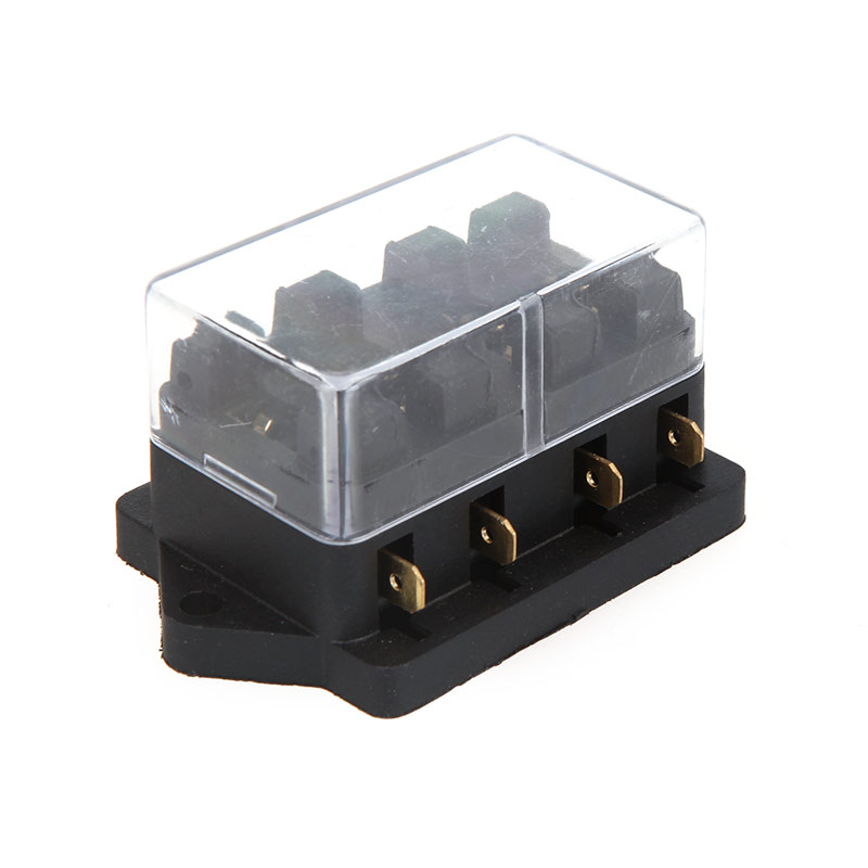 online get cheap automotive fuse box com alibaba group auto universal car truck vehicle 4 way circuit automotive middle sized blade fuse box block
