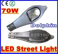 10 pieces/lot 70W Dolphin LED street light AC 85-265V outdoor road lamp With Bridgelux chip Cool White/Warm White/Natural White