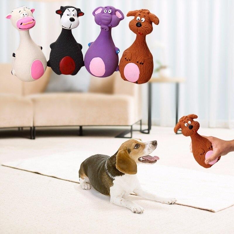 15*8 см Pet Puppy Игрушки для собак точь-в-точь Симпатичные Игрушечные лошадки животные формы звука пищалка звонкое Игрушечные лошадки мелких дом...