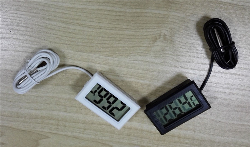 factor sell hight quality LCD Digital Thermometer for Freezer Temperature 50 110 degree Refrigerator Fridge Thermometer