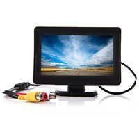 Car Monitor Rear View Monitor Night Vision High Definition 4 3 Inch LCD Parking Reverse Camera