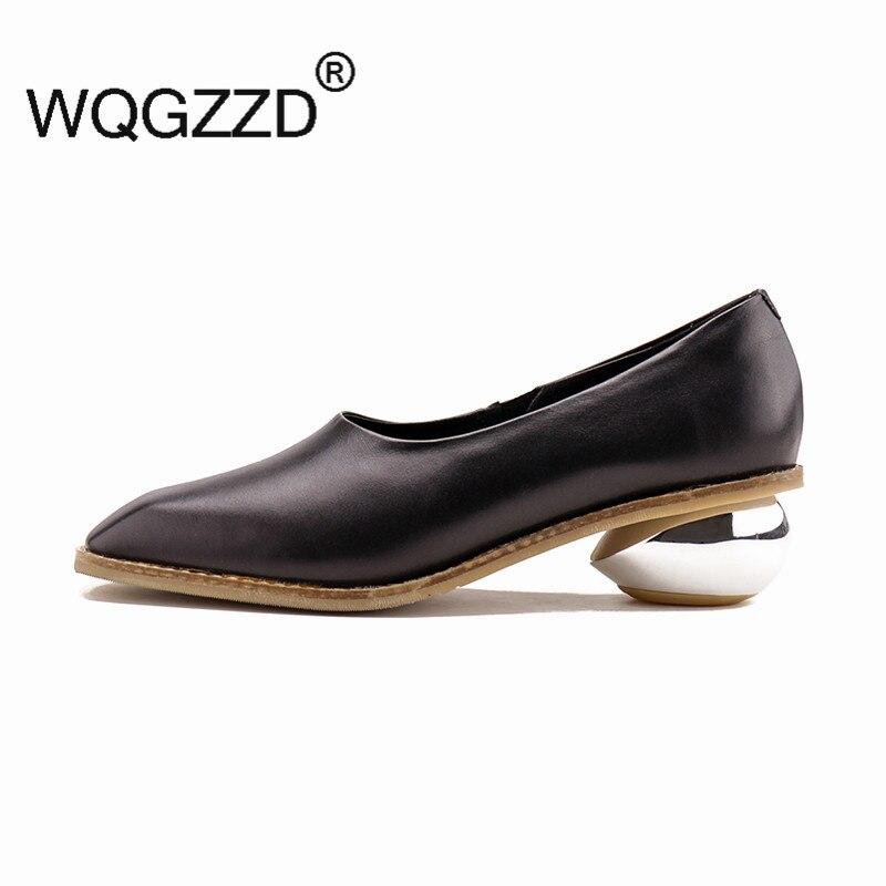 Chaussures Diseño Impresión Mujer Mocasines Cuero 2018 white Genuino Moda Zapatos Black Planos Casual Marca De Mujeres Femme BrzcqB