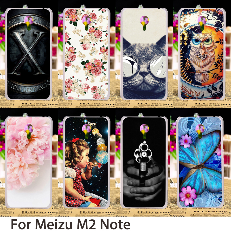 TAOYUNXI Soft Mobile Phone Cases For Meizu M2 Note Meilan Note 2 4G LTE Dual SIM M2Note For Meilan Note2 Cases Hard Back Bags