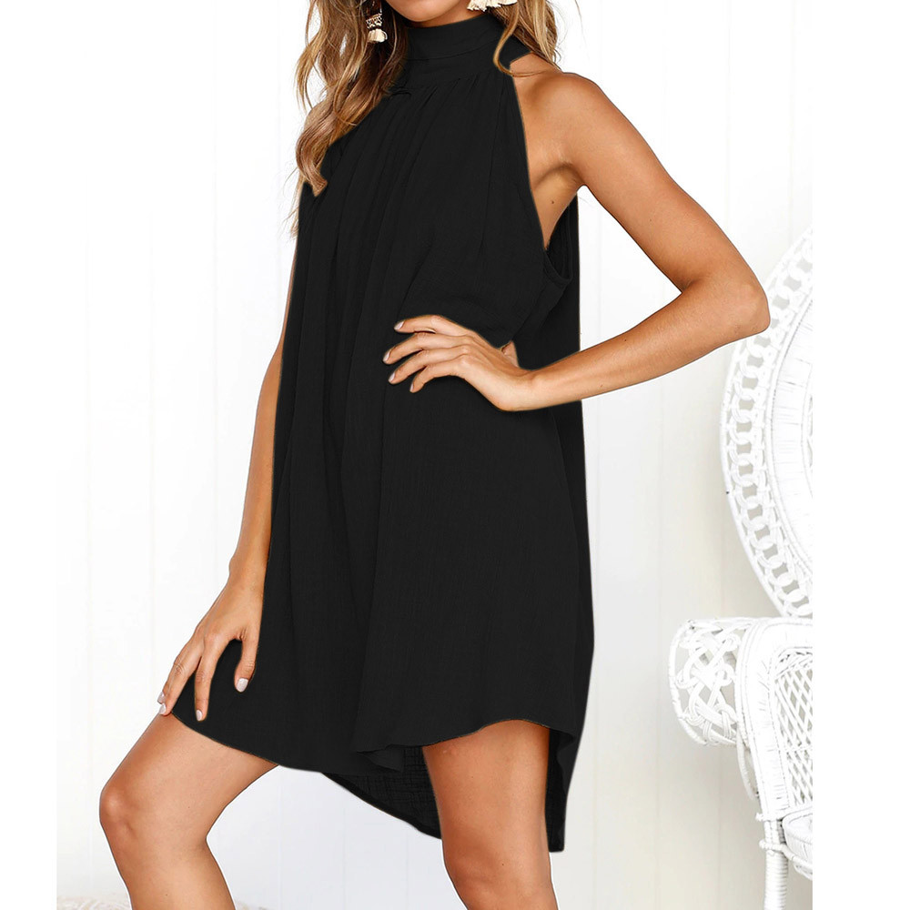 HTB1cEqCFuuSBuNjSsziq6zq8pXa4 KANCOOLD dress fashion Womens Holiday Irregular Dress Ladies Summer Beach Bohe Sleeveless Party dress women 2018jul19