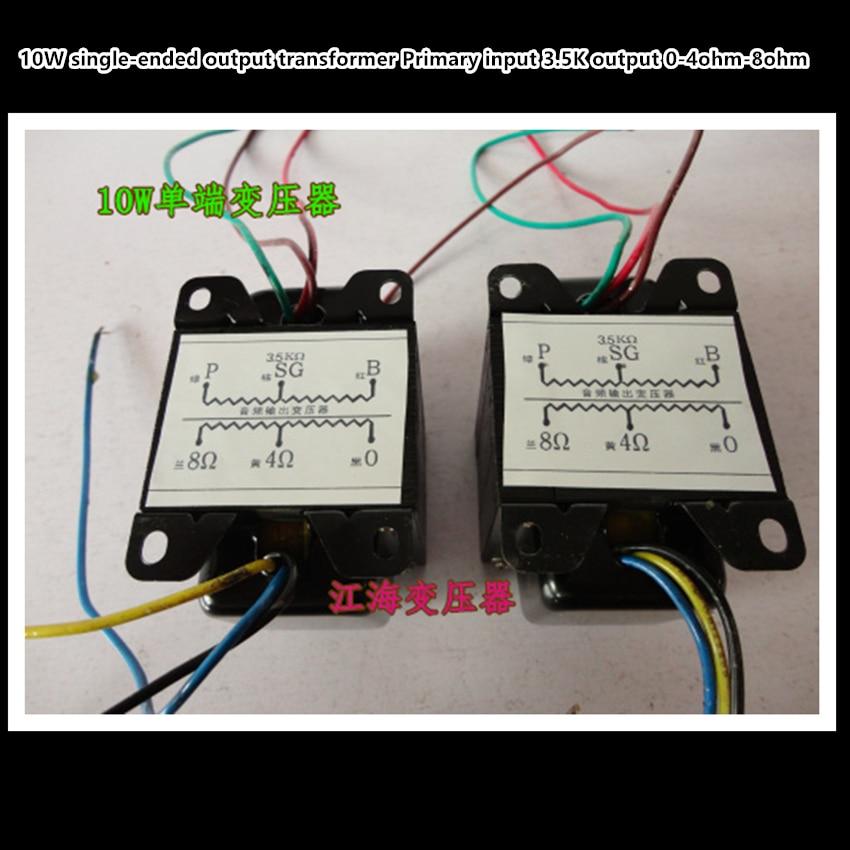 10w Single-ended 6P6P EL34 FU50 FU7 tube amp output audio transformers 3.5k output of 0-4-8 Ohm 1pcs резистор audiocore wn 10w 1 8 ohm page 3