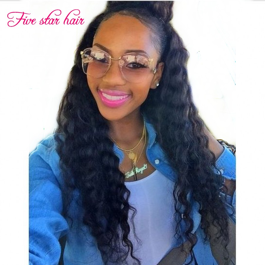 Full Lace human hair wigs with baby hair best quality Loose Wave Silk Top Lace Front Brazilian virgin hair wigs