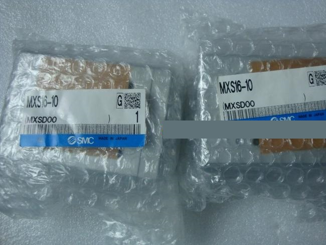 BRAND NEW JAPAN SMC GENUINE SLIDE TABLE MXS16-10 brand new japan smc genuine gauge g43 10 01