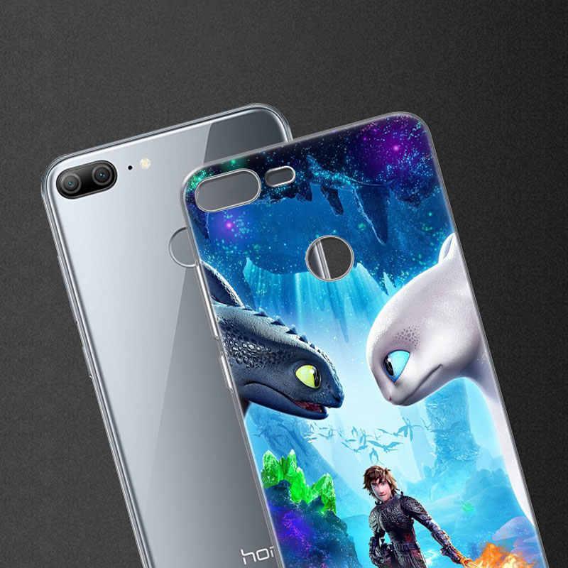 Горячий Как приручить дракона Мягкий силиконовый чехол для телефона huawei Honor 20 20i 10 9 8 Lite 8X 8C 8A 8S 7S 7A Pro View 20 Fashion