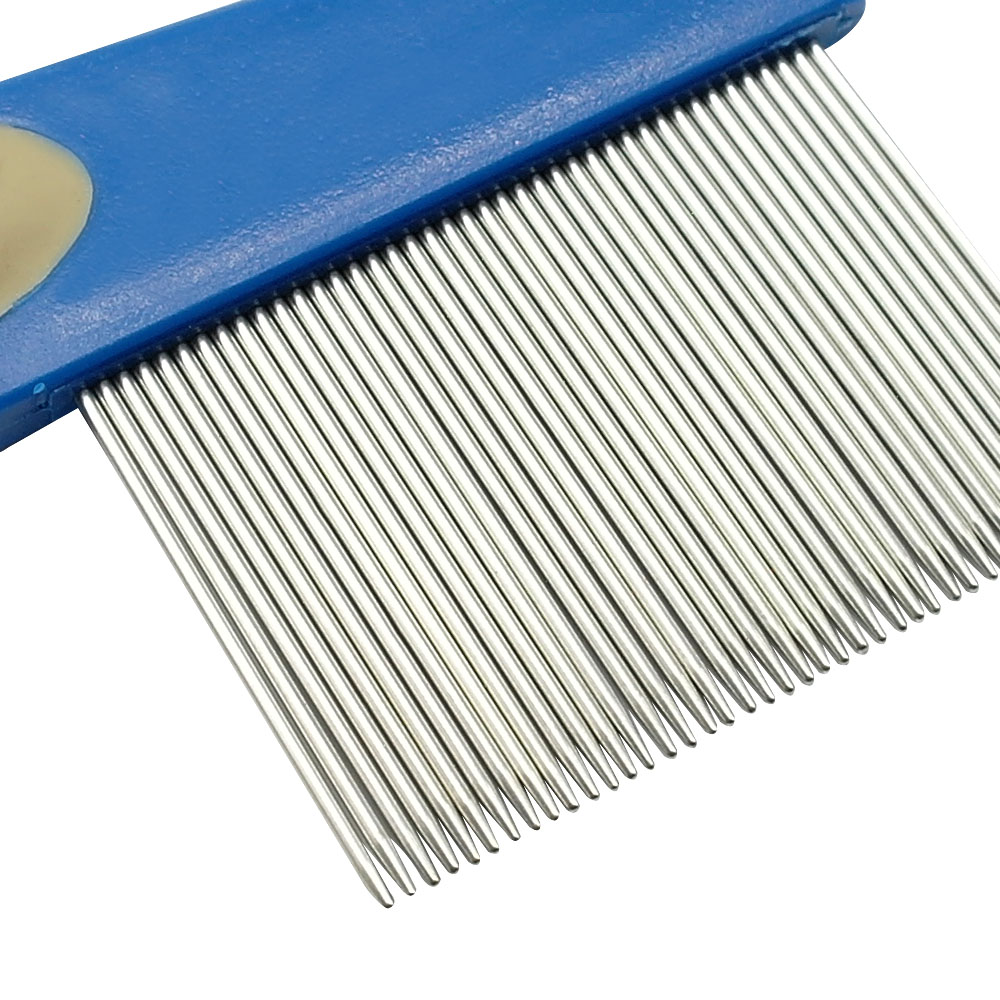 Pet Dog Hair Flea Comb Cleaning Tool Stainless Pin Puppy Cat Grooming Brush China