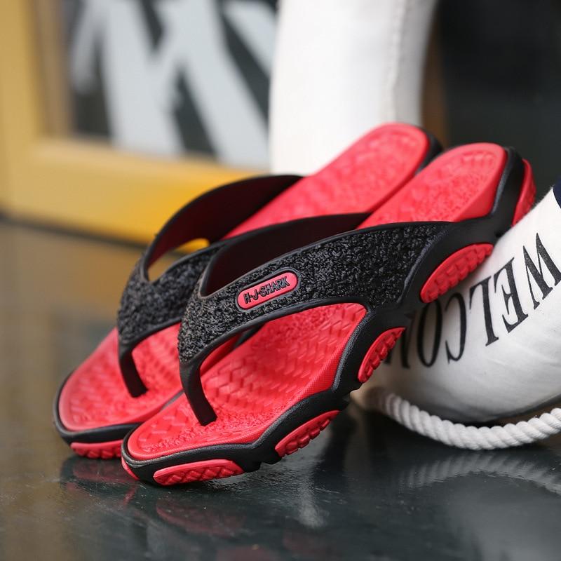 Summer Hot Sale Men Designer Flip Flops Men Fashion Beach -2766