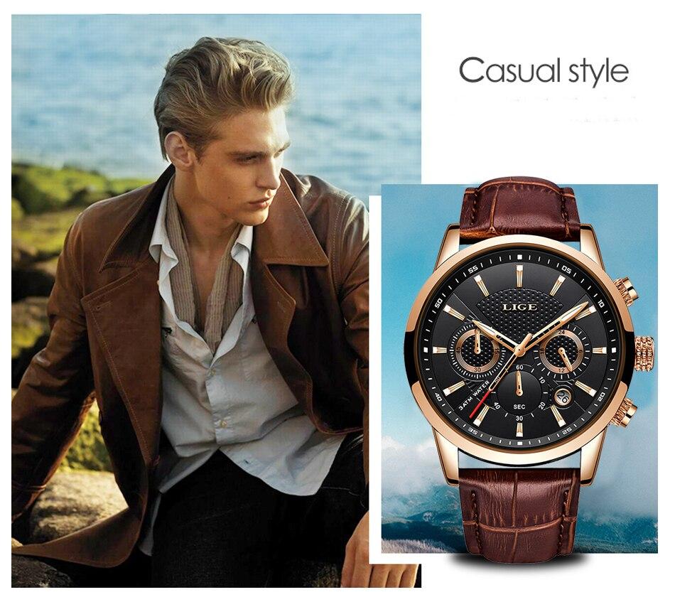 HTB1cErMVXzqK1RjSZFvq6AB7VXam LIGE 2020 New Watch Men Fashion Sport Quartz Clock Mens Watches Brand Luxury Leather Business Waterproof Watch Relogio Masculino