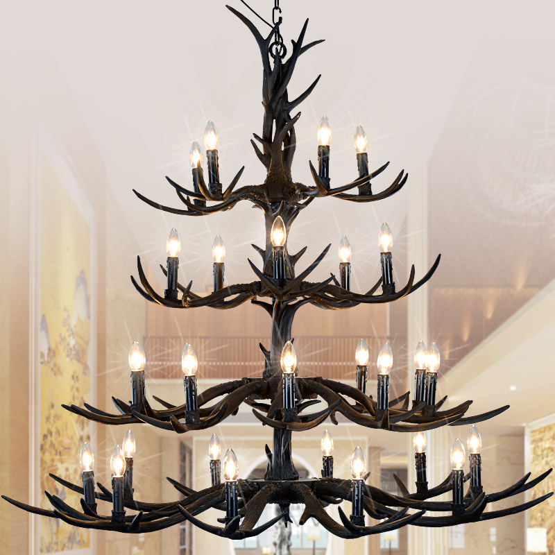 Europe Country 30 Heads Pendant Lamp Hanging Lights
