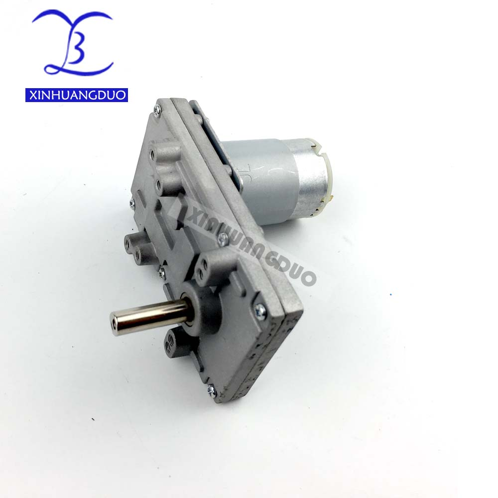 555 Metal Gear Motors for Takanawa 12V-24V DC Reduction Gear Motor High Torque Low Noise 40-80 rpm