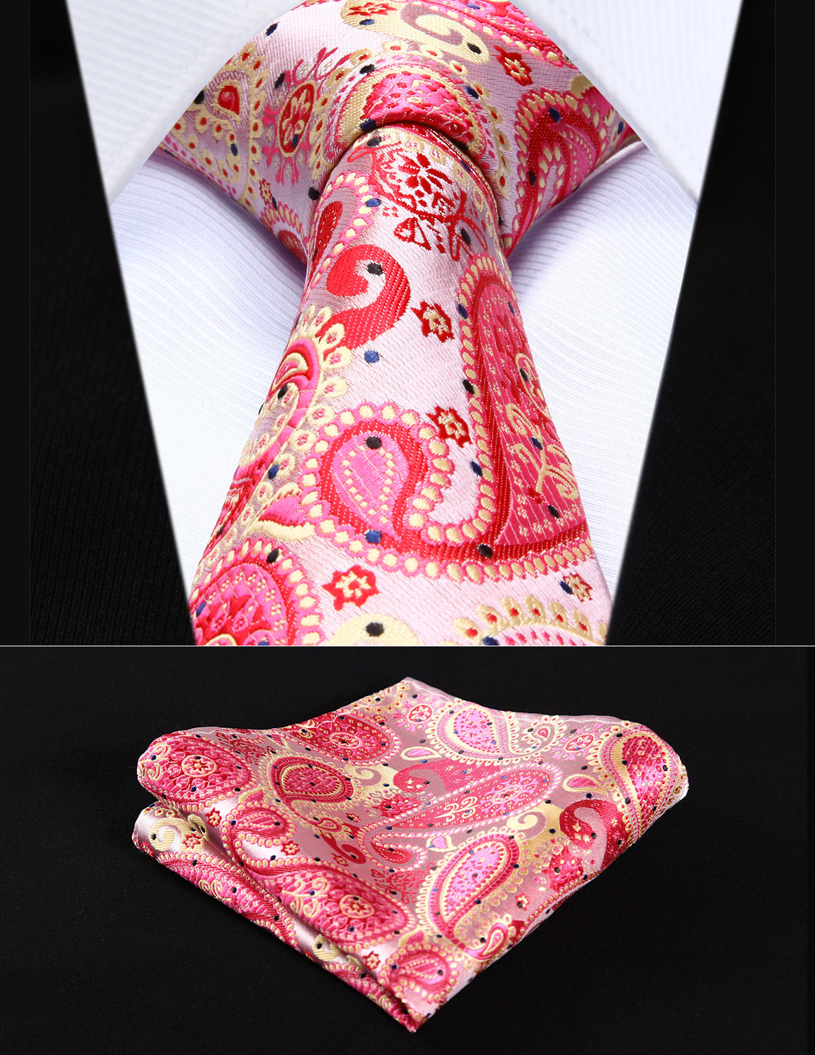 TP706K8S Red Pink Paisley 3.4