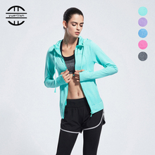 Breathable Soft Fitness 3Pieces Yoga Sets Shockproof Women Running Jacket Bra Leggings Gym Clothes Green Trainning