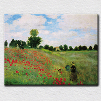 Quiet country land scenery oil painting modern canvas painting for living room high quality reproduction oil painting