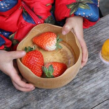 Kreative Bambus Schussel Fur Lebensmittel Salat Kinder Ramen Reis