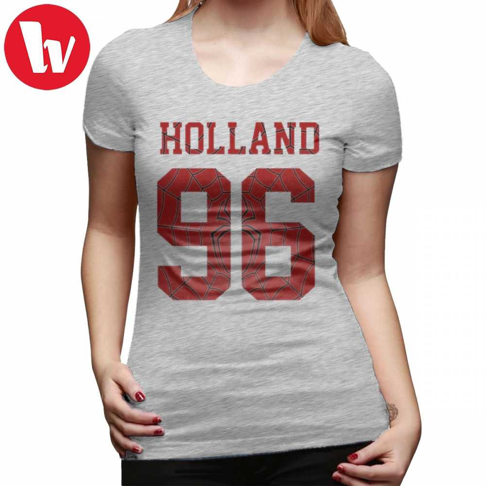 Tom Holland T-Shirt Holland T Shirt Street Fashion Short Sleeve Women tshirt O Neck Oversize Graphic 100 Cotton Ladies Tee Shirt