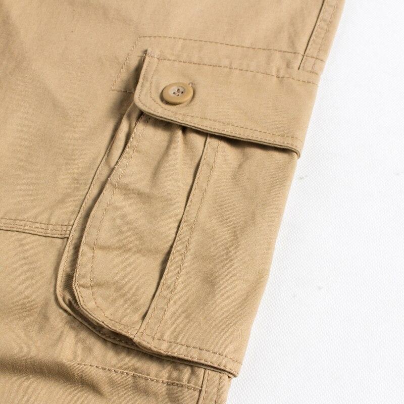 Image 4 - BOLUBAO, новинка, мужские брюки карго, мужские брюки с несколькими карманами, военные камуфляжные спортивные брюки, мужские брюки с эластичным поясом-in Повседневные брюки from Мужская одежда