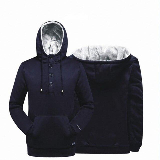 Новый черный синий С Капюшоном Уличная Хип-Хоп Толстовки Кофты Мужчины Осень Зима Верхняя Одежда Прохладный хлопок Clothing размер 4XL