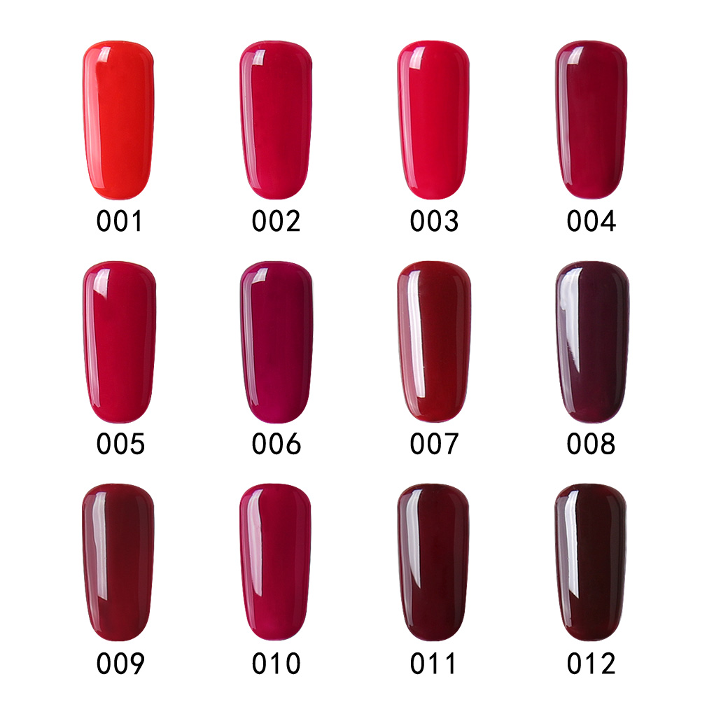 CLAVUZ 12pcs Nude Color UV Gel Nail Polish Top Quality Nail Gel for ...