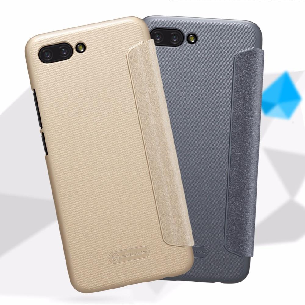 Funda Huawei Honor 10 Lite Funda NILLKIN Sparkle Super Thin Flip - Accesorios y repuestos para celulares - foto 2
