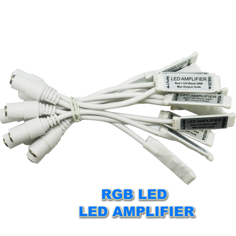 Independent 20pcs/lot 3 Channel Mini Rgb Led Signal Amplifier Controller Dc12v 6a With Female Dc Connector For 5050 3528 Rgb Led Strip Durable Modeling Lighting Accessories Lights & Lighting