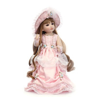 NPK Cute Reborn Baby Doll 45cm Mini Princess Doll Jointed Dolls Toys for Children Girls Gifts YH 17