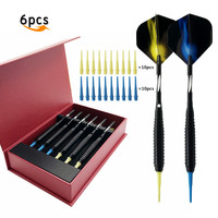 Free Shipping 6pcs Professional 18g Soft Darts Electronic Dart 2 Set Of Soft Tip Darts With