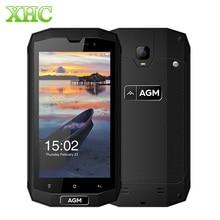 "AGM A1Q IP68 4 г мобильный телефон 4050 мАч Водонепроницаемый Android 7.0 MSM8916 Quad Core 5.0 ""4 ГБ оперативной памяти 64 ГБ ROM Dual SIM OTG NFC Смартфон"