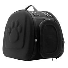 Slings Pet Travel Carrier Kis kutyák és macskák Táska Összecsukható hordozható kültéri hordozó Pet Bag Transportin Hálózat Sleeping Backpack