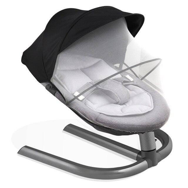Babyruler bebé columpio mecedora para bebé Bebek Salincak bebé recién nacido cesta de dormir cuna automática bebek salincak