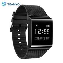 Teamyo X9 плюс Смарт Браслет сердечного ритма часы браслет кислорода в крови монитор Smart Band трекер для IOS Android Xiaomi