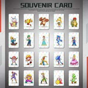 Image 3 - Newest 23 PCS NFC Game Cards For Botw Switch Zelda Breath Wild Super Mario Smash Cart 8 Bros Odyddey Splatoon 2 NS Switch