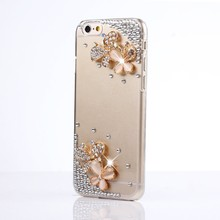 Bling Crystal Rhinestone Glitter Diamond Phone Skin Case Cover for iPhone4S 5S 5C 6S/6SP 7/7P & SamsungS5 S6E S7E S8P N4 N5 N7