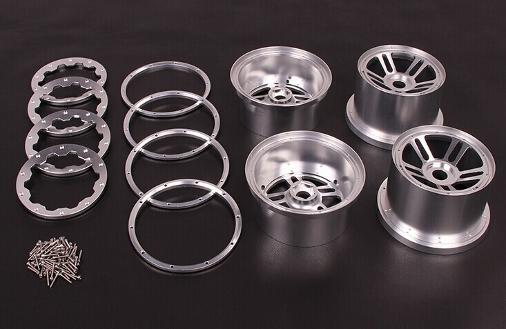 5B CNC Metal Wheel Set TS-H85129 for baja parts