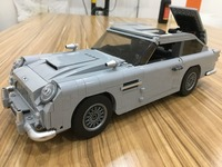 21046 Creator James Bond Famous Car Aston DB5 Model Building Block Bricks Toys Compatible With Legoings Technic