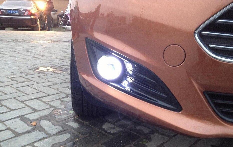 eOsuns COB anđeo dnevno svjetlo DRL + Svjetlo za maglu + Objektiv za - Svjetla automobila - Foto 4