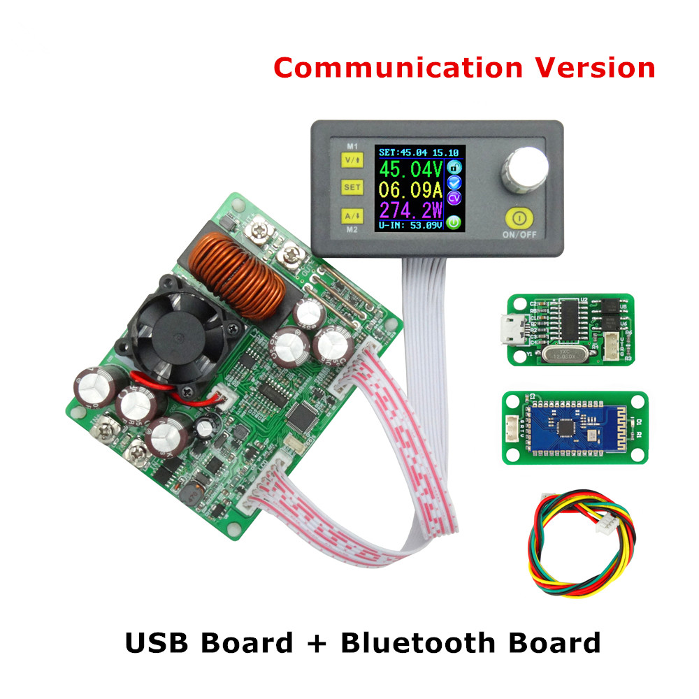 Constant Voltage Current Step-down Communication Digital Power Supply Buck Voltage Converter LCD Voltmeter 50V 20A breakthrough communication a powerful 4 step process for overcoming resistance and getting results