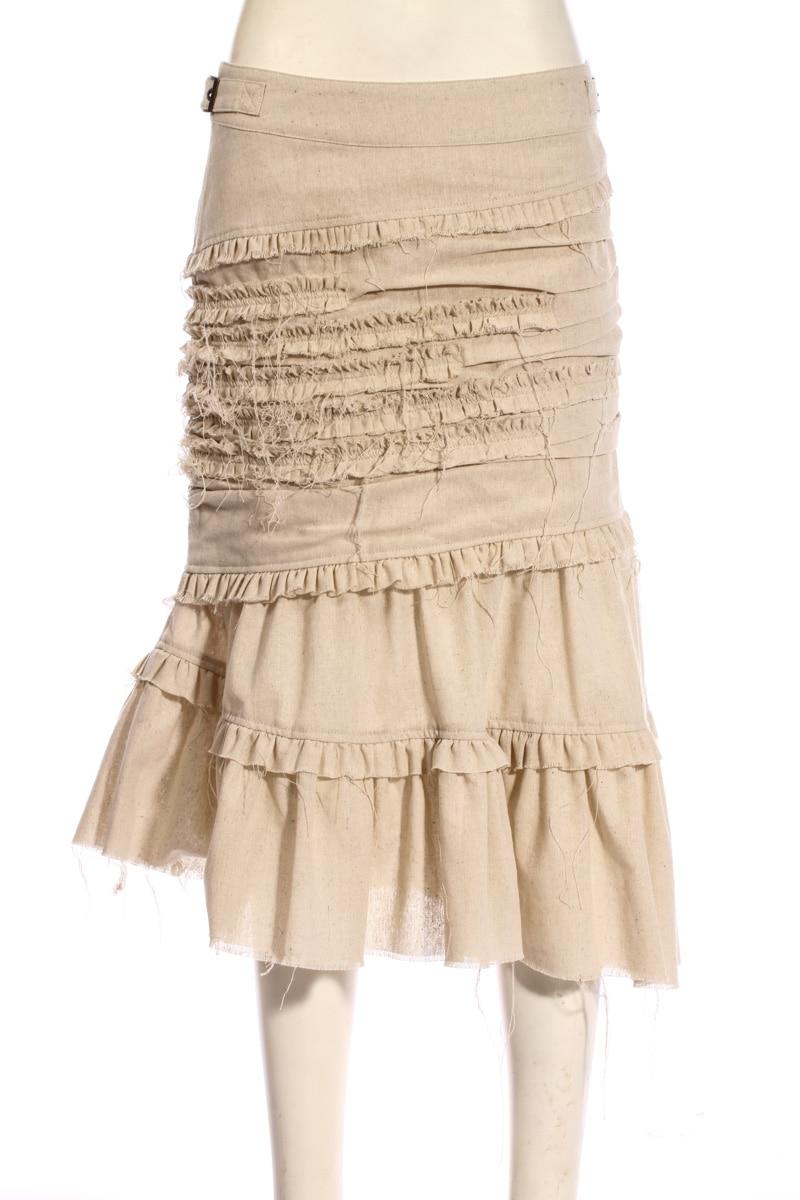 Verano Steampunk Pradera Gótico Chic Cascada Largo Faldas Aporicot Asimétrico Moda Mujer RR8rg
