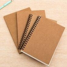 32 К Ретро Эскиз бумаги чистые тетради эскиз рисунок книга журнал личный дневник примечание канцелярские 01604