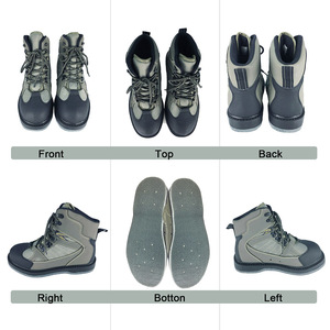 Image 2 - Fly Fishing Shoes With Nails & Pants Aqua Felt Sole Upstream Sneakers Clothing Set Rock Sport Wading Waders Boot Hunting No slip