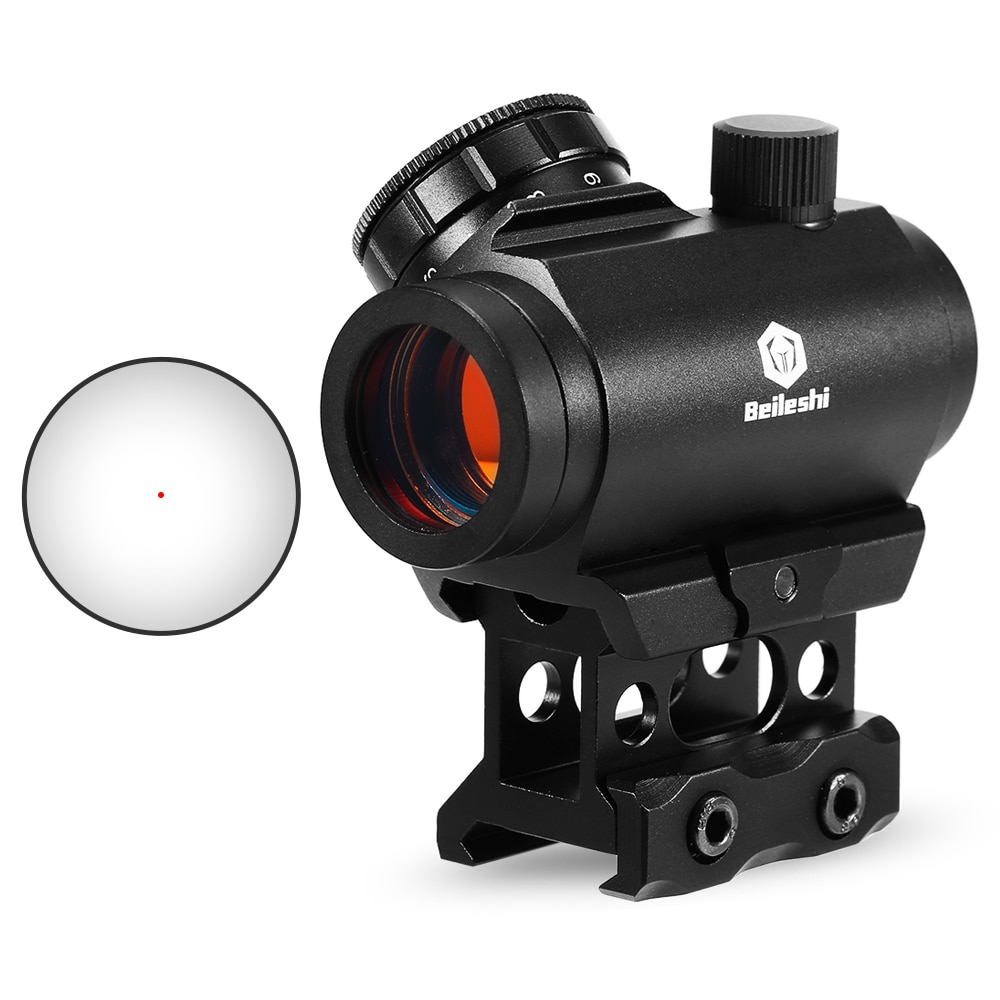 1X22 Micro Red Dot Hunting Shooting Riflescopes Monocular Sighting Pointer Extra Rail Mount Riflescope1X22 Micro Red Dot Hunting Shooting Riflescopes Monocular Sighting Pointer Extra Rail Mount Riflescope