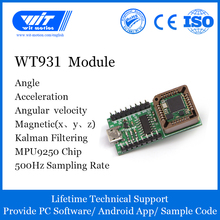 Accelerometer AHRS MPU9250 Witmotion for Arduinos WT931 Angle Xyz-Return-Rate-500h Eletronic-Gyroscope