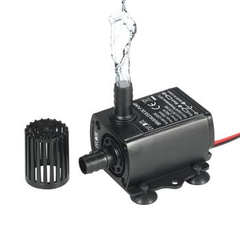 12V High Pressure Submersible Fountain Water Pump For Aquarium Fish 280L/H300cm