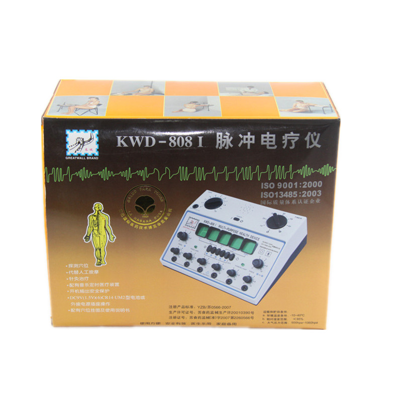 Image 5 - 110V 240V 6 Channels Electric Body Therapy Massager Muscle Pain Cure Chinese Acupuncture Needle Stimulator Machine Health Device-in Massage & Relaxation from Beauty & Health