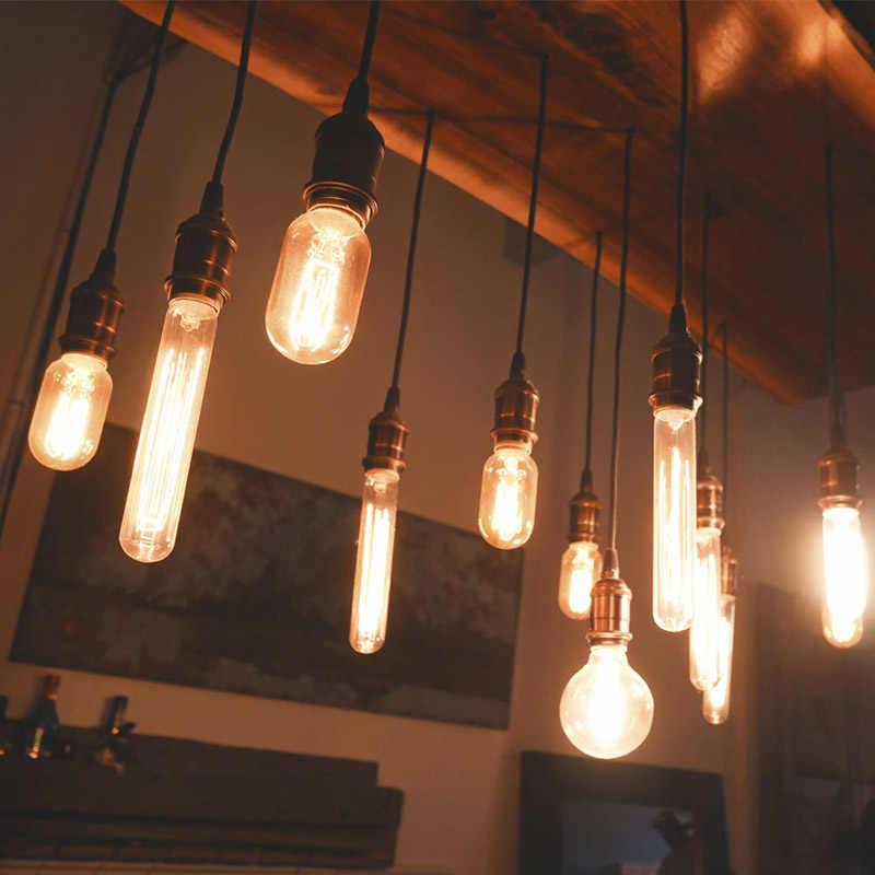 Vintage Hanglampen E27 Lamphouder Socket 110V 220V Schakelaar Schroef Fitting e27 Lampvoeten Retro Edison Lamp houder