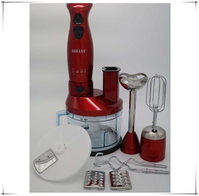 7 in 1 Multifunctional Household 600W Electric Stick Blender Hand Blender Egg Whisk Mixer Meat Grinder Food Processor wavelets processor