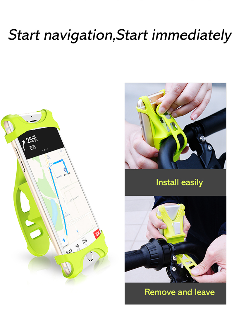 3 Bicycle Phone Holder
